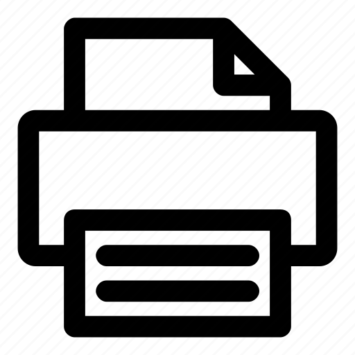 copy, document, file, office, printer icon