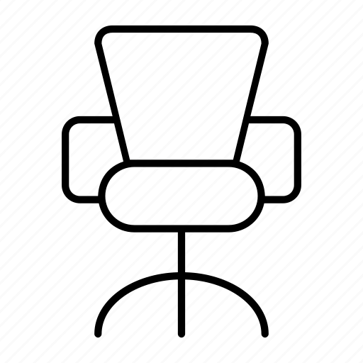 chair, furniture, office, sit, table icon