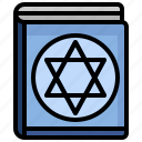 faith, jewish, torah, cultures, book, read icon