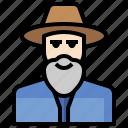 beard, faith, fashion, hat, jewish, rabbi, traditional icon
