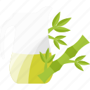 drink, greenery, juice, vegetables icon