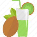 drink, fruit, juice, kiwi icon