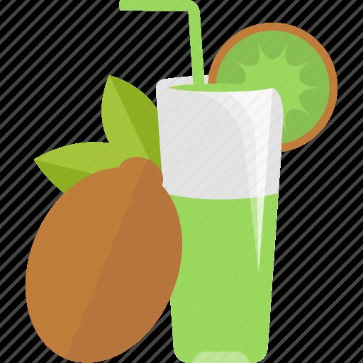 drink, fruit, juice, kiwi icon