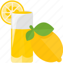 drink, fruit, juice, lemon icon