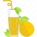 drink, fruit, juice, pear icon