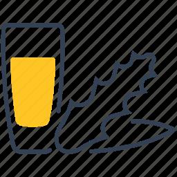 aloe, drink, juice icon