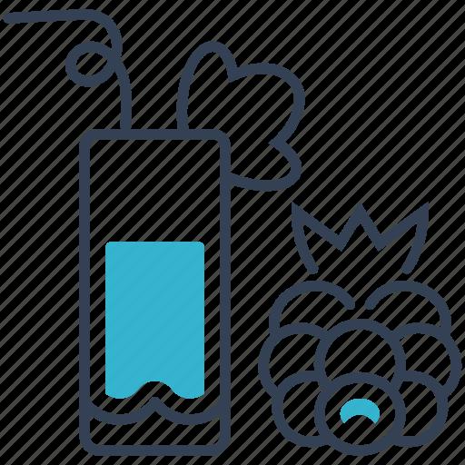 blackberry, drink, juice icon
