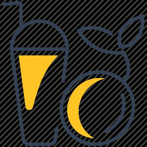 drink, grapefruit, juice icon