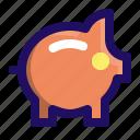 bank, finance, pig, piggy, saving