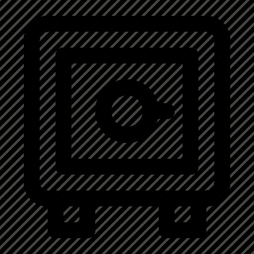 Finance, lock, money, safe, secure, vault icon - Download on Iconfinder