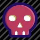 death, pirate, poison, rip, skeleton, skull icon