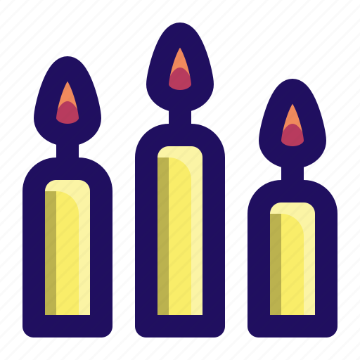 candle, candles, celebration, dinner, family, pilgrim icon