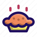 cake, dessert, food, pie, tart, thanksgiving icon