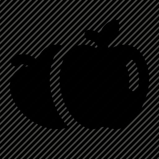 apple, apples, food, fruit, pilgrim, thanksgiving icon