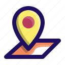 gps, location, map, navigation, pin, position icon