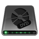 dark, disc, disk, drive, dvd icon