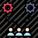 alternative, choice, choose, option, process icon