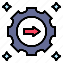 clear, explicit, obvious, process, reveal icon