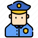 cop, justice, law, legal, officer, police, policeman icon