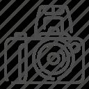 camera, photography, photo, frame, flashlight, equipment, lens