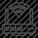 wireless, signal, network, device, wave, technology, internet