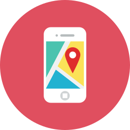 application, map icon