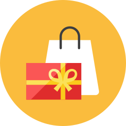 bag, present icon