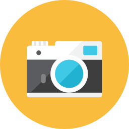 camera, front icon