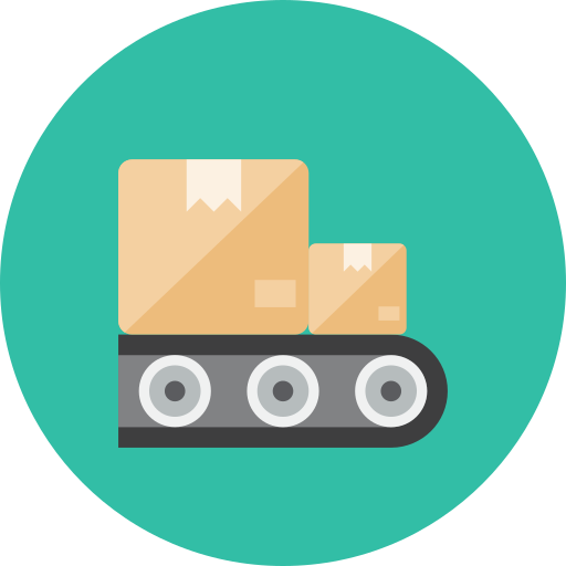 belt, conveyor icon