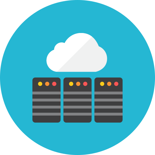 cloud, database icon