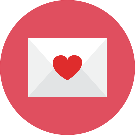 letter, love icon