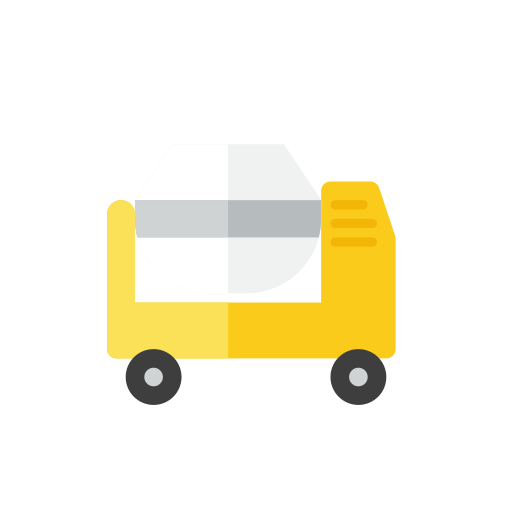Cement, mixer icon