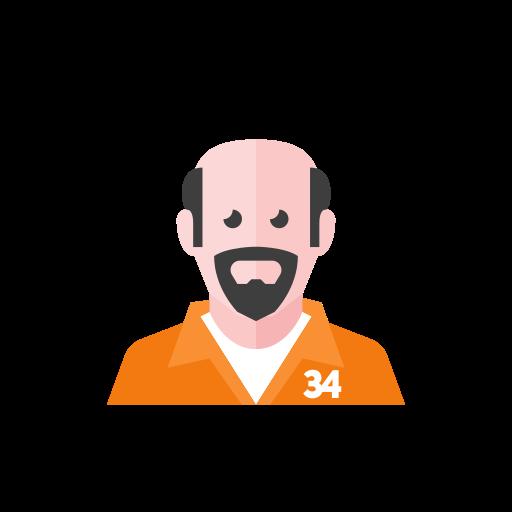 Prisoner icon - Free download on Iconfinder