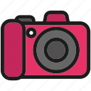 camera, cute, desktop, kawaii icon