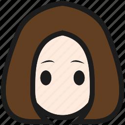 cute, desktop, girl, kawaii icon
