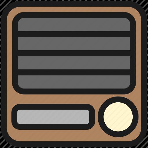 cute, desktop, kawaii, music, radio icon