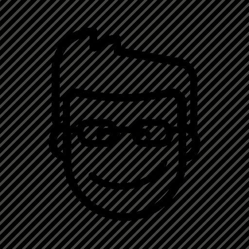 coder, cute, developer, gasp, kawaii, male, programmer icon