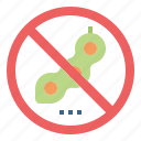 banned, beans, forbidden, no, prohibited icon