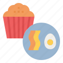 cupcake, diet, ketogenic, nutrition, snack icon