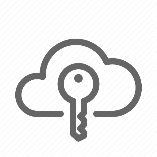 Access, cloud, key icon - Download on Iconfinder