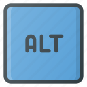 alt, keyboard, type icon