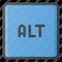 alt, keyboard, type