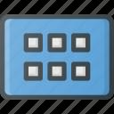 application, keyboard, type, view