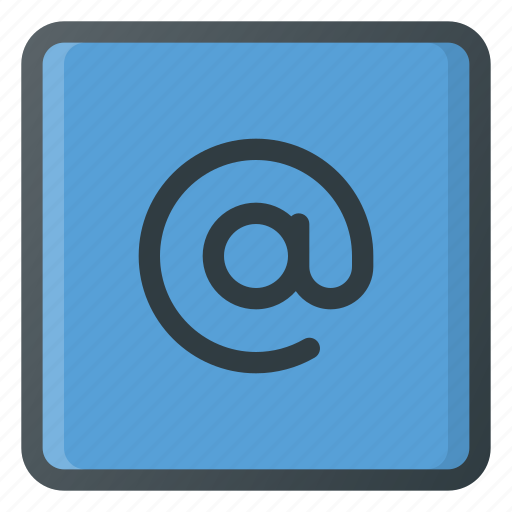 At, keyboard, type icon - Download on Iconfinder