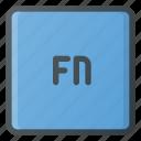 fn, keyboard, type