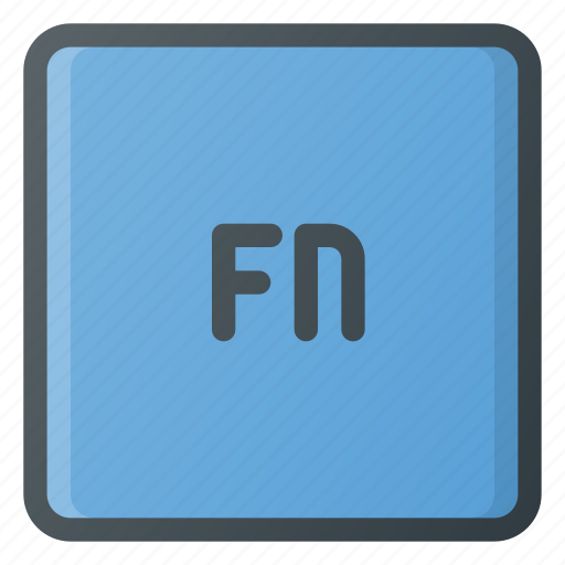 fn, keyboard, type icon