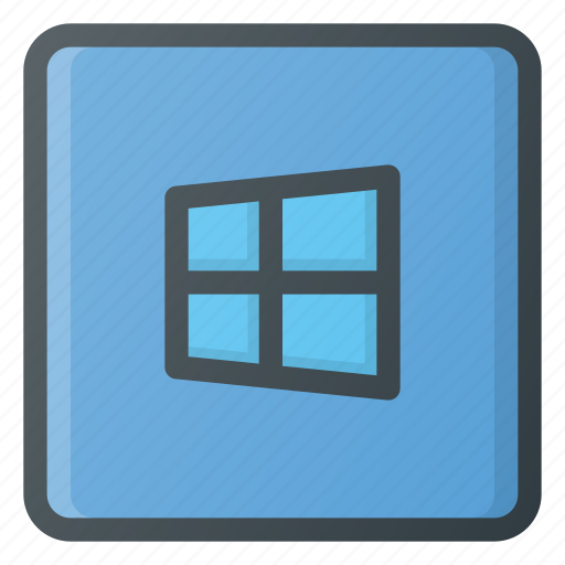 keyboard, type, windows icon