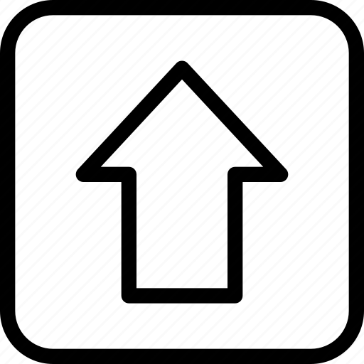 arrow, direction, keys, shift, up icon