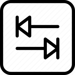 distance, keys, tab, tabular, tabulator icon