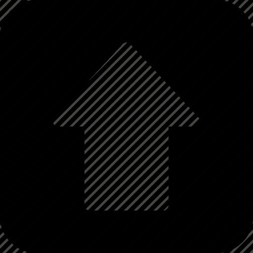 arrow, keyboard, keys, shift, up icon